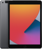 Apple iPad 10.2 (2019) WiFi + Cellular 32 GB Black