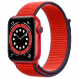 Apple Watch Nike Series 6  44mm Red